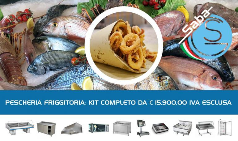KIT PESCHERIA FRIGGITORIA